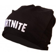 FORTNITE Winter HAT Cotton Beanie BLACK Title Written Original Official Videogame Epic Games