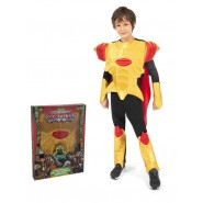 Carnival COSTUME of LORD KERYON from GORMITI Size LARGE 8/10 YEARS Original GIOCHI PREZIOSI