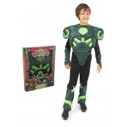 Carnival COSTUME of LORD ELECTRYON from GORMITI Size LARGE 8/10 YEARS Original GIOCHI PREZIOSI