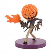 JACK SKELLINGTON Figure 8cm King Pumpkin Ball CHIBIKKO Nightmare Before Christmas Original SEGA DISNEY