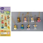 TOMY SET 8 Figures WINNIE POOH Special SPRING EDITION Mini Winnies Peek a Pooh