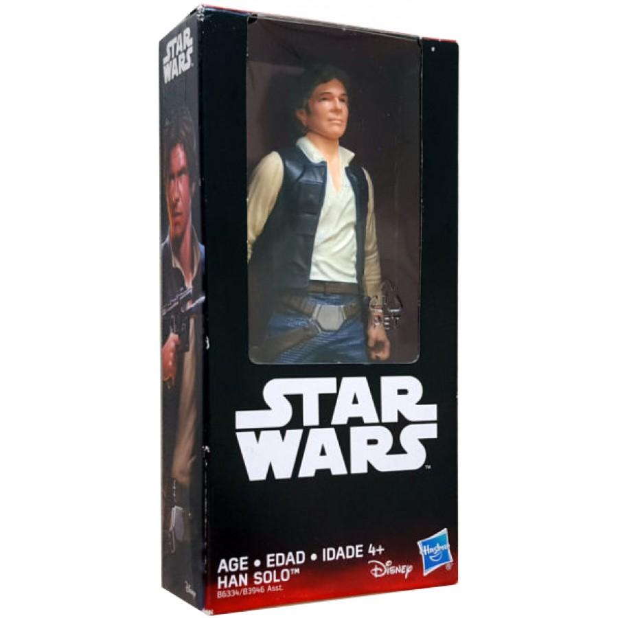 Figura Personaggio HAN SOLO 15cm da Star Wars Originale HASBRO E1446//B3946