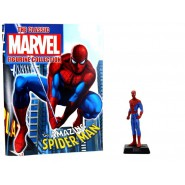Amazing SPIDERMAN With Character Booklet Figure LEAD 8cm Classic Figurine Collection Serie MARVEL Eaglemoss