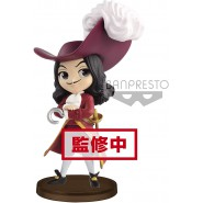Figure Statue 7cm CAPTAIN HOOK Peter Pan Disney QPOSKET Petit VILLAINS Second Serie Banpresto Q Posket
