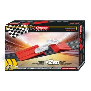 EXTENSION SET With JUMP RAMP And 2 meters of race track for Electric SLOT CAR TRACKS Carrera GO and Carrera DIGITAL 143