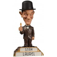 RESIN Figure Statue STAN LAUREL 20cm Bobble Head ORIGINAL Big Chief