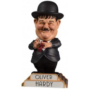 RESIN Figure Statue OLIVER HARDY 20cm Bobble Head ORIGINAL Big Chief