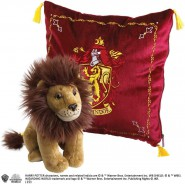HARRY POTTER Gift Set GRYFFINDOR House Cushion and PLUSH Noble Collection