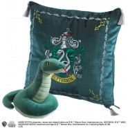 HARRY POTTER Gift Set SLYTHERIN House Cushion and PLUSH Noble Collection