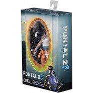 Action Figure 18cm CHELL from Videogame PORTAL 2 Original NECA