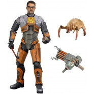 Action Figure 18cm GORDON FREEMAN from Videogame HALF LIFE 2 Original NECA