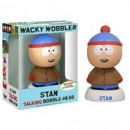 STAN Bobble Head Figure TALKING 15cm From SOUTH PARK Original FUNKO FUNKO Wacky Wobbler