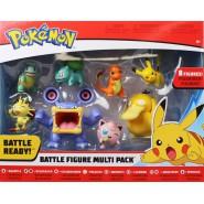 POKEMON Box 8 Mini FIGURES Battle Figure WAVE 3 PSYDUCK BULBASAUR SQUIRTLE etc.