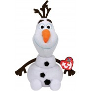 OLAF Peluche Plush GLITTER 35cm WITH SOUND Original FROZEN Movie TY