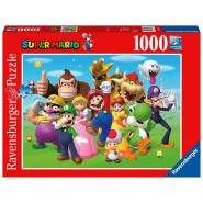 PUZZLE 1000 Pieces SUPER MARIO All the PROTAGONIST Characters 70X50cm RAVENSBURGER