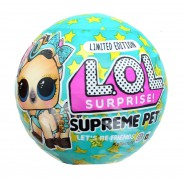 L.O.L. SUPREME PET Spheres LIMITED EDITION With inside LUXE PONY Original LOL MGA