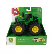 TRACTOR with SOUNDS and LIGHTS Monster Treads  John Deere TOMY