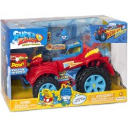 SUPERZINGS Box Playset MONSTER ROLLER Hero Truck 2 FIGURES ORIGINAL Super Zings Rivals of Kaboom