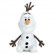 Plush OLAF Snow Man GLITTERED 30cm from FROZEN 2 Original DISNEY