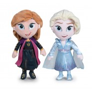 FROZEN 2 Couple Two PLUSHIES 30cm ELSA and ANNA Official DISNEY Original