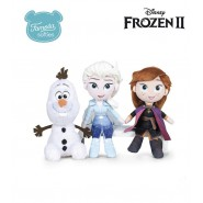 OLFA ANNA and ELSA New SET 3 Plushies 25cm from FROZEN 2 Original FAMOSA DISNEY