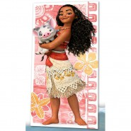 Beach Towel VAIANA and PUA Oceania MOANA Disney 150x75cm ORIGINAL Cotton