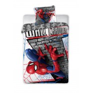 SPIDER MAN Wall Crawler Cotton BED Set DUVET COVER 160x200cm Original MARVEL Faro