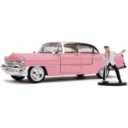 Model ELVIS PRESLEY's 1955 CADILLAC FLEETWOOD With FIGURE 1/24 JADA TOYS