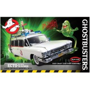 GHOSTBUSTERS Scale EASY SNAP Model Kit ECTO-1 With SLIMER Scale 1/25 Polar Lights