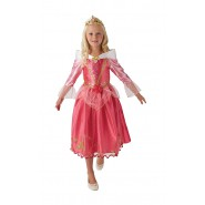 Carnival COSTUME of AURORE SLEEPING BEAUTY Size SMALL 3-4 YEARS Original RUBIE'S Rubies 620487