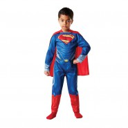 Carnival COSTUME of SUPERMAN Classic Version Size LARGE 7-9 YEARS Original RUBIE'S Rubies