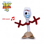 Plush FORKY 20cm from TOY STORY 4 With SOUND Talking SPANISH Top Quality ORIGINAL Famosa