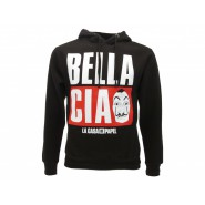 LA CASA DE PAPEL Hooded Sweatshirt BELLA CIAO Dali Mask OFFICIAL Original