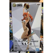 ONE PIECE Figure Statue NAMI STAMPEDE 25cm BANPRESTO Series FLAG DIAMOND SHIP