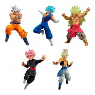 DRAGONBALL Versus DB SUPER SP 02 Complete Set 5 FIGURES Bandai Gashapon