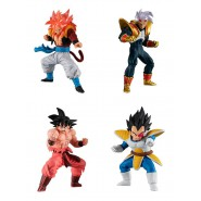 DRAGONBALL GT HG04 HIGH GRADE Real Figure 04 Complete Set 4 FIGURES Bandai Gashapon