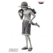 Figure MONKEY D LUFFY 22cm From ONE PIECE Magazine VOLUME 2 Original Monochrome Banpresto SPECIAL Version B