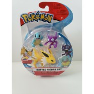 POKEMON Box 3 FIGURES Jolteon + Squirtle + Sableye Original WCT Battle Figure Set