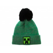 Hat Beanie MINECRAFT Pon Pon WINTER GREEN Cactus Creeper Original Official Mojang