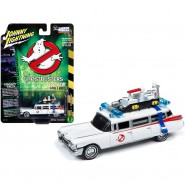 GHOSTBUSTERS Model Car 8cm ECTO 1A 1984 Version Scale 1/64 Original  Johnny Lightnining