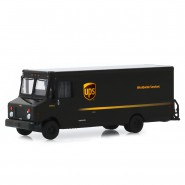 Model Van Courier UPS 2019 PACKAGE CAR 13cm Scale 1/64 Greenlight Carrier Delivery