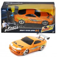 Brian's TOYOTA SUPRA Car Model 18cm R/C Radiocontrolled FAST AND FURIOUS Scale 1/24 Original JADA TOYS