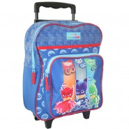 TROLLEY Backpack PJ Mask Boy School 35x28x12cm Original Vadobag Gattoboy Geco Owlette GO GO GO