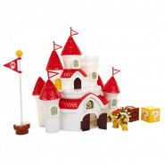 Playset Super Mario MUSHROOM KINGDOM Castle With Figure and many Interactive Pieces Jakks Pacific