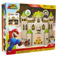 Playset Super Mario DELUXE Bowser's Castle With SUONDS Figure and many Interactive Pieces Jakks Pacific