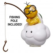 Figure LAKITU 10cm In a Cloud With Fishing Pole From Videogame SUPER MARIO
