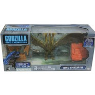 KING GHIDORAH Action Figure 15cm Plane and Destructible City GODZILLA King Of Monster 65 Anniversary JAKKS PACIFIC
