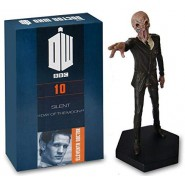 DOCTOR WHO Num. 10 Figure Eleventh Doctor Silent The Silence 10cm 1/21 Model DieCast EAGLEMOSS