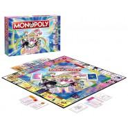 MONOPOLY Special Edition SAILOR MOON Animated Cartoon - ITALIAN Language