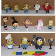 SET 14 Figures 5cm Characters Animated Cartoon Minions